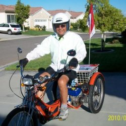 my self, my riding gear