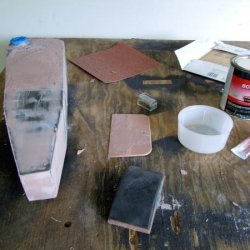Sanding…Bondo…sanding…Bondo…and so on and so forth…