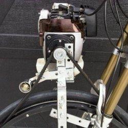 V-Belt tensioner added