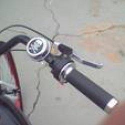 throttle handle n skull bell