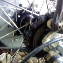 Hub and Sprocket from Inside
