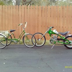 schwinn town and country and occ gasbike