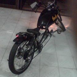 Bike has Taillight/Brakelight, Turn Signals f/r, Headlight H/L beams 6V Horn