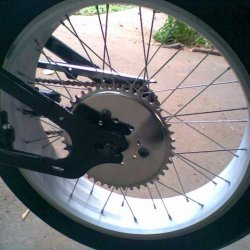 a little polish on the new sprocket