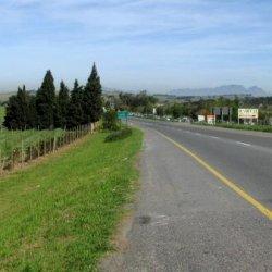 Cruising near Stellenbosch