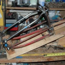 8 Fork fabrication using Model T Ford leaf springs