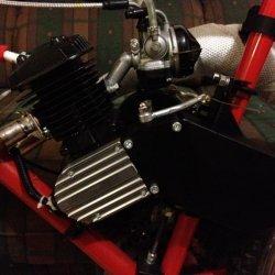 make a engine side chain guard