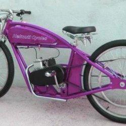 Purple Helmutt Xcelsior