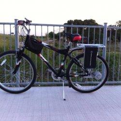 E-bike#5: Ezip Trailz 24v, 450 watts