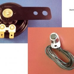 12 volt Bike Horn & Switch
