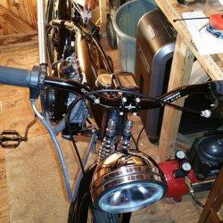 New Handle Bar and left Brake handle