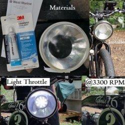 Phantom Light Bulb change to 19 LED unit.  https://www.youtube.com/user/JimConHam/videos
