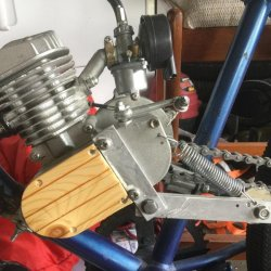 DIY Chain Tensioner. Works great!