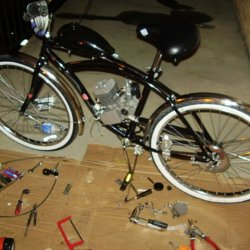 Istbenz's Motorized Bike Project 7