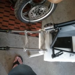 Diy mini bike fork