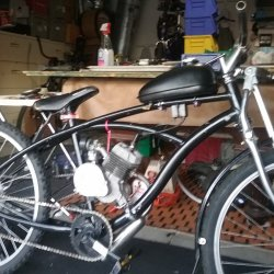 Gas bike