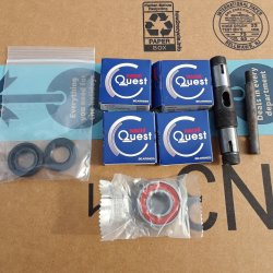 Nachi bearings, clutch shaft, clutch actuator rod and seals.