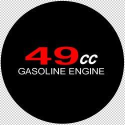 49cc Motorized Bicycle Sticker