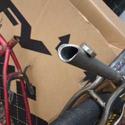 Start of new lay back seat post