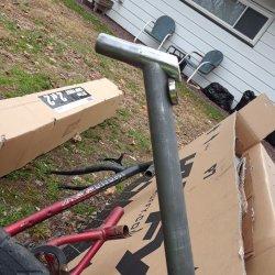 Sear post before welding