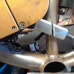 Rear motor mount