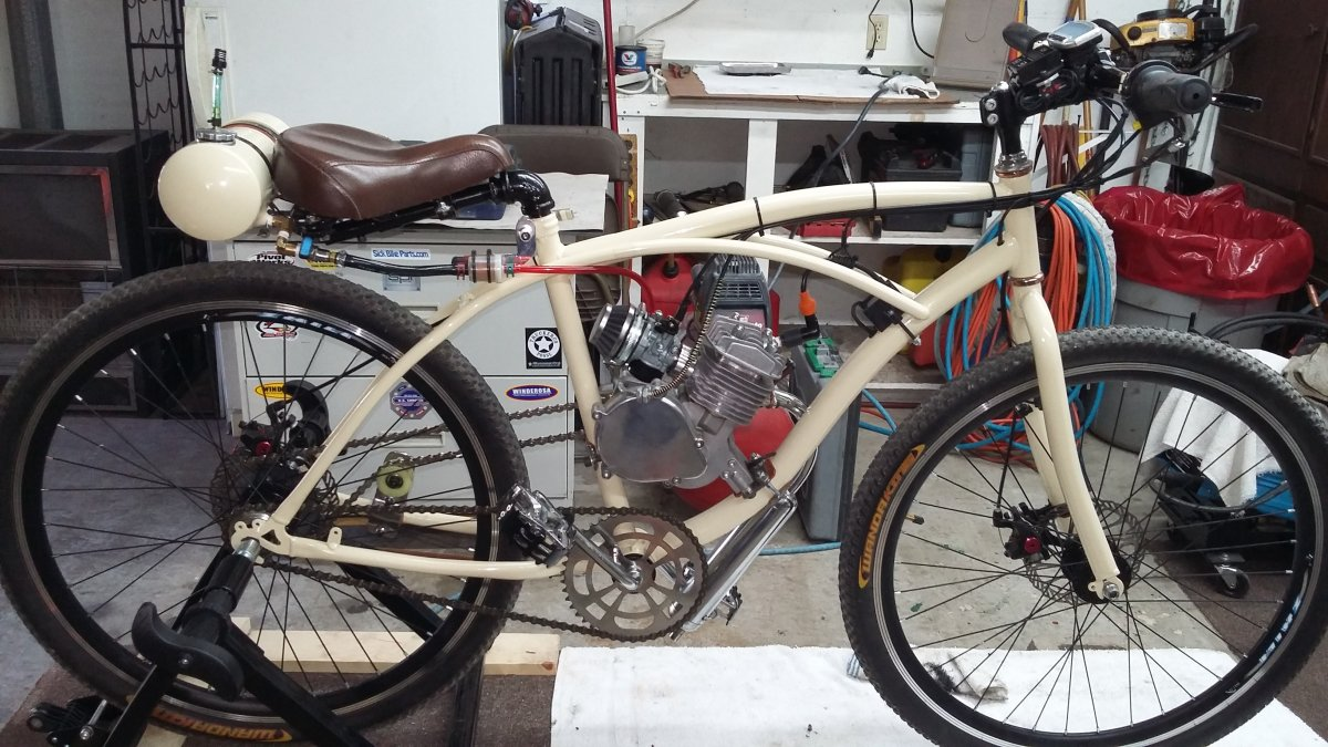 For Sale - Custom Bobber for sale | Motored Bikes - Motorized ...