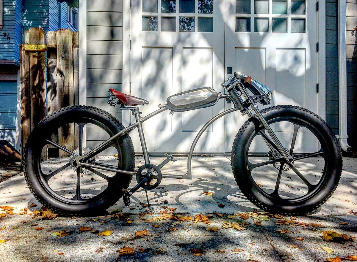 212cc Predator Motorized Bicycle