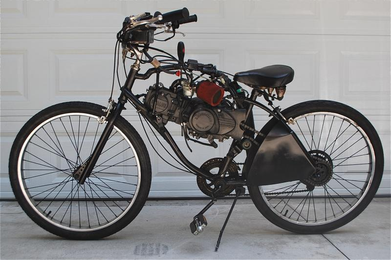chinese 110cc 4 speed engine with screwdriver shifter