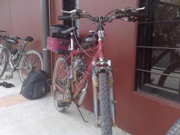Dirty 34Red after riding the trails