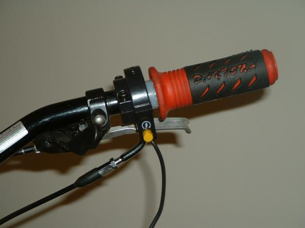matchin rubber twist grips kill switch