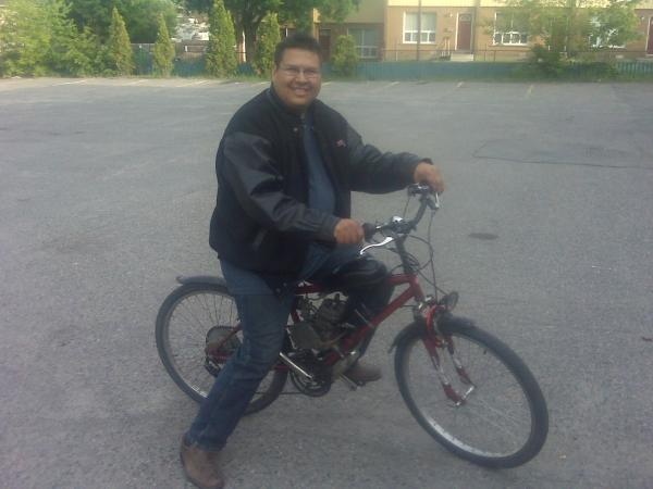 Me and this small bike travel 17 miles one way to work and made a 150 mile run on labour day weekend