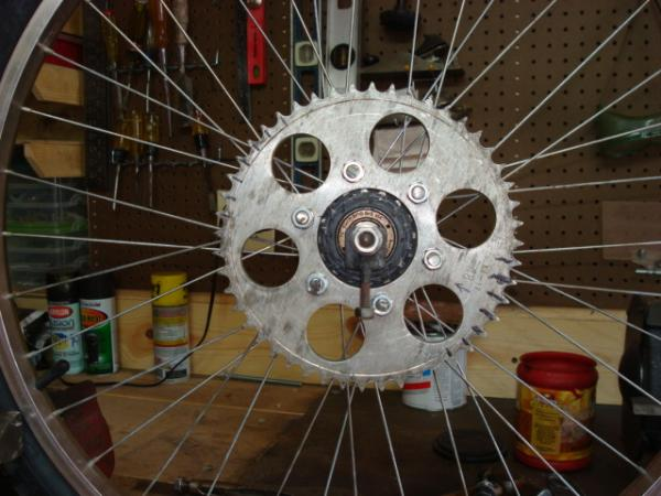 modified sprocket