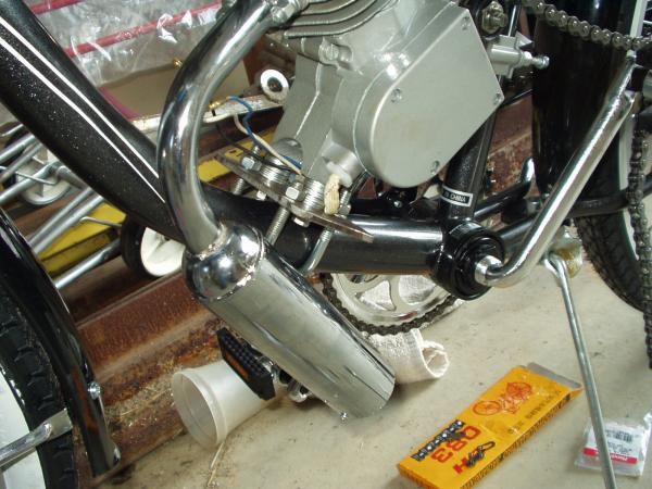 motorbike (2) - custom engine bracket