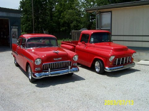 My 1955 Chevy Twins