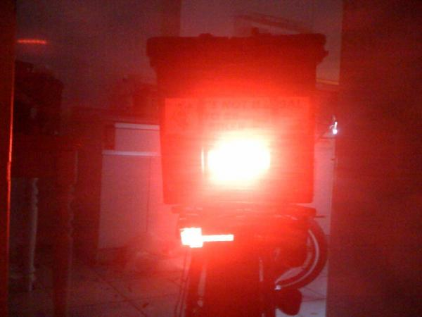 Rear Light and Left Turn Signal