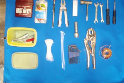 This is a shot of my tool kit