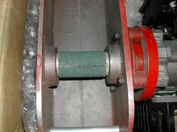 Viper TC friction drive kit with belt sander attached. Note: Take a file to it to make it less abrasive.