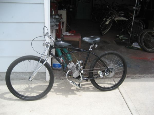 my bike on long distance