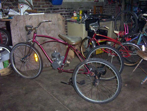 wheeled gas bikes Adult three